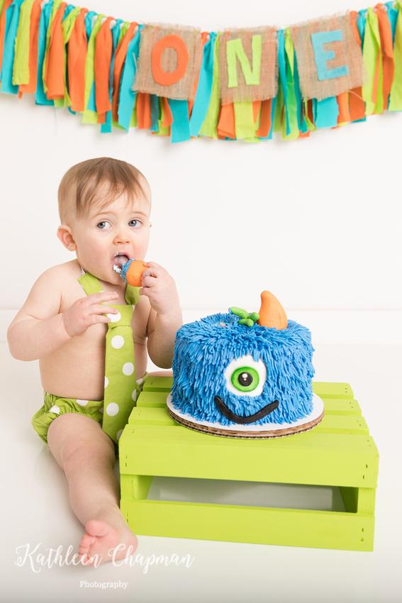 toddler boy cake smash massena ny child photographer