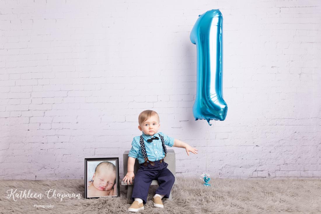 Toddler boy cake smash session potsdam ny family photographer