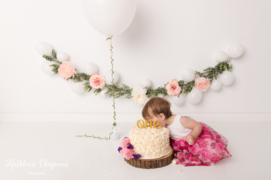 face in cake | malone ny child photographer