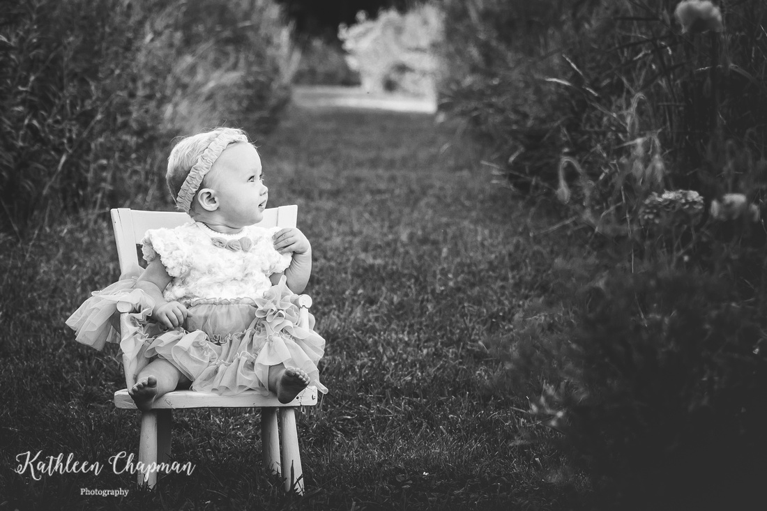 8 month old portrait | Malone NY child photographer