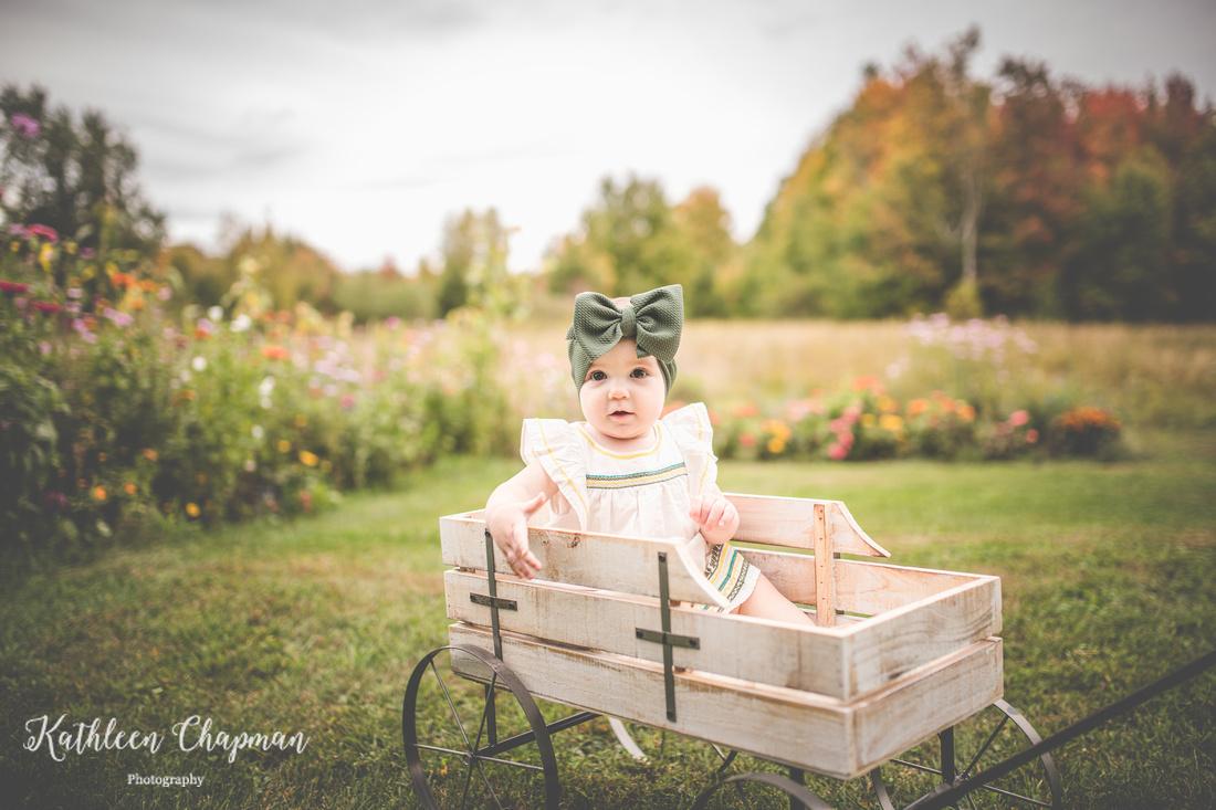 Wildflower garden mini session | Malone NY family photographer