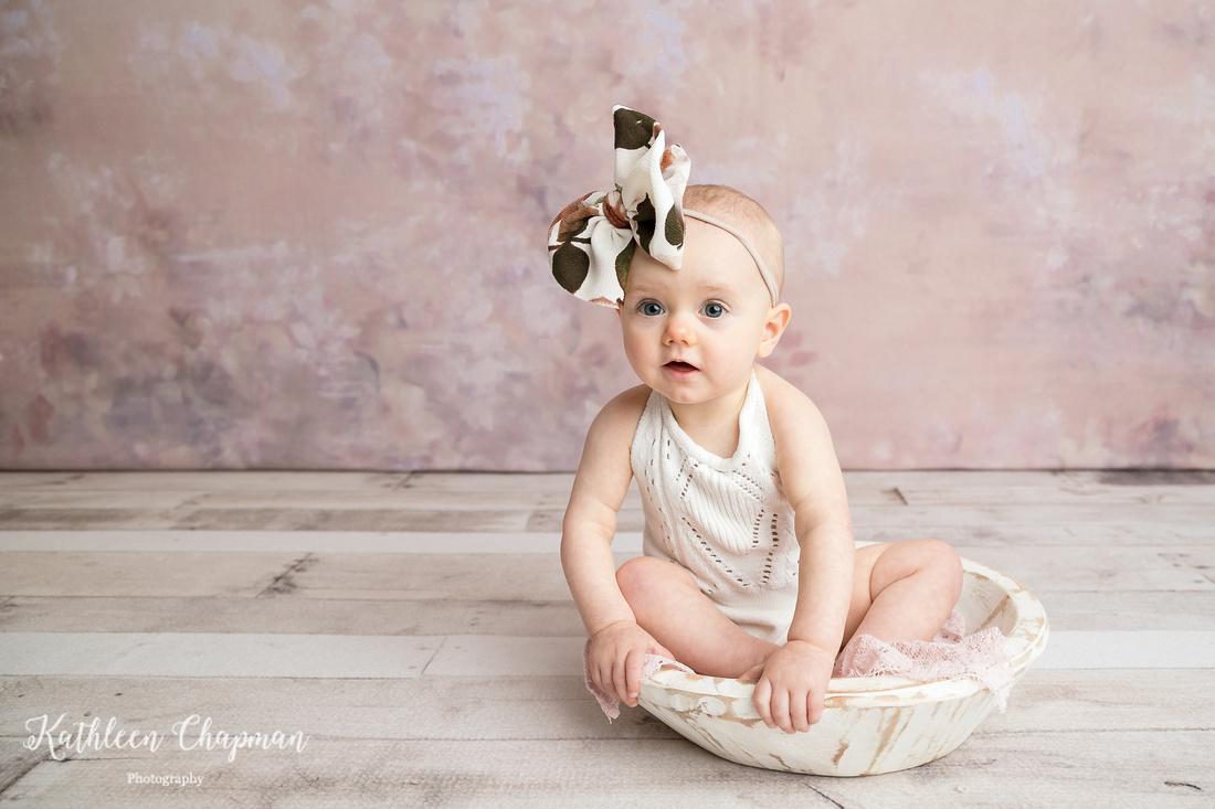 1st birthday girl | Malone NY child photographer