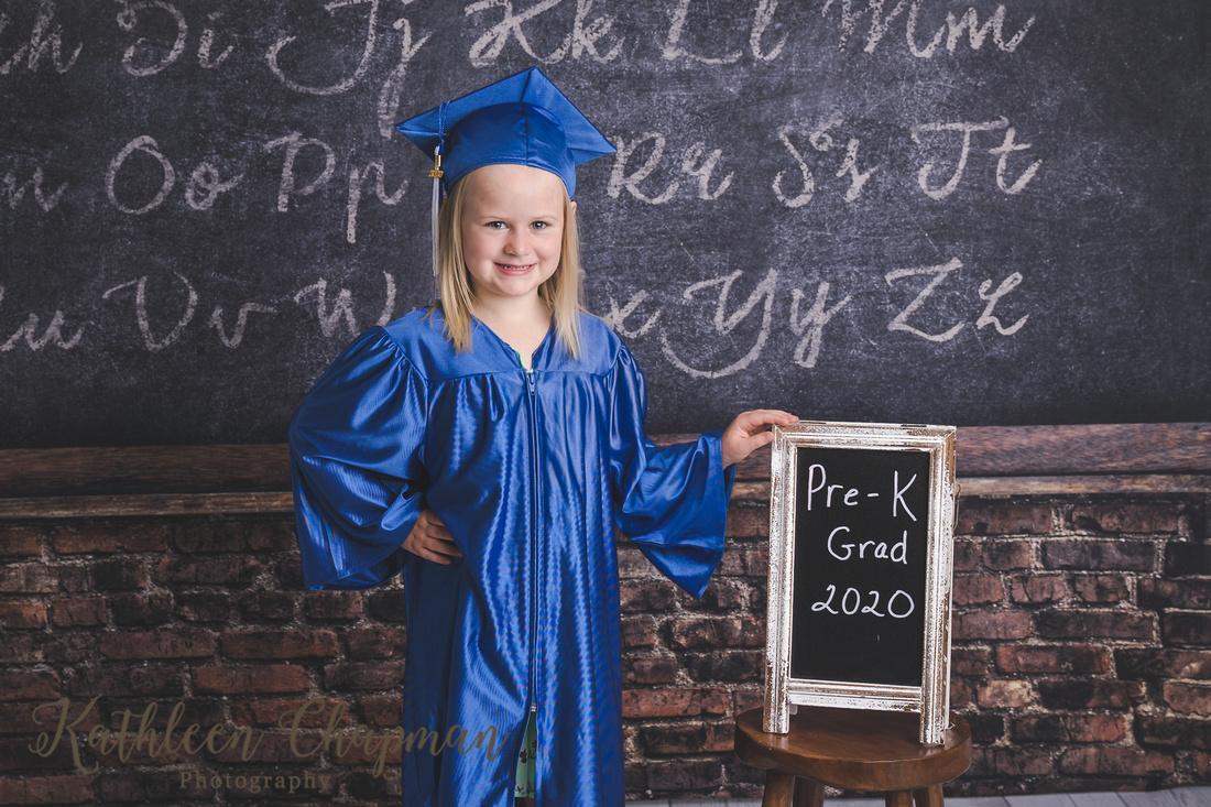 Pre-K graduation mini session | Malone NY child photographer