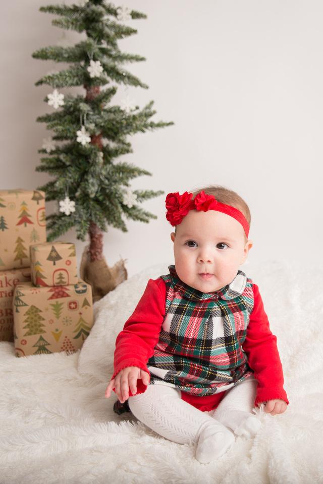 child christmas portrait potsdam ny family photographer