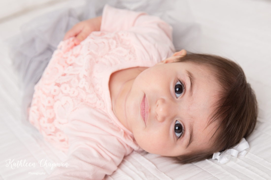 baby girl close up portrait malone ny child photographer